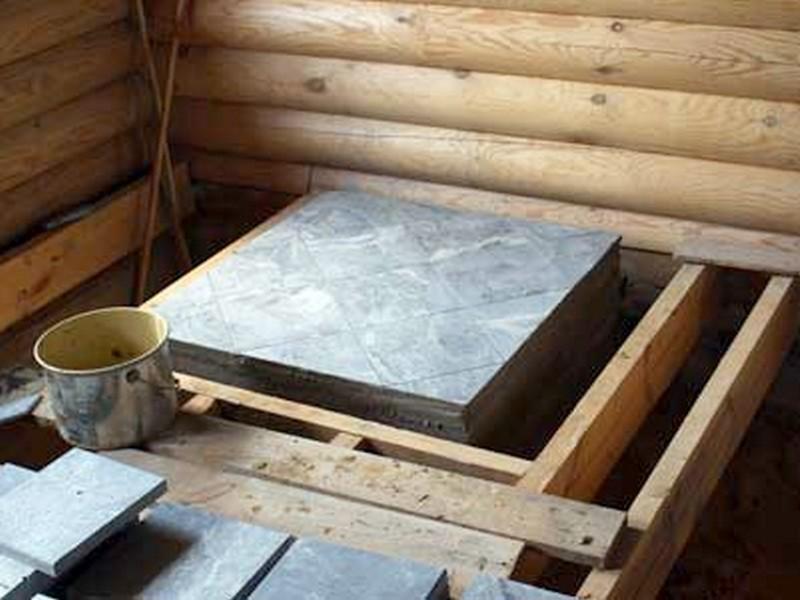 Как правильно сделать фундамент под печь в бане