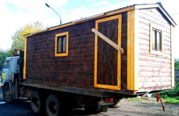 Баня вагончик - готовая передвижная баня с доставкой на дачу