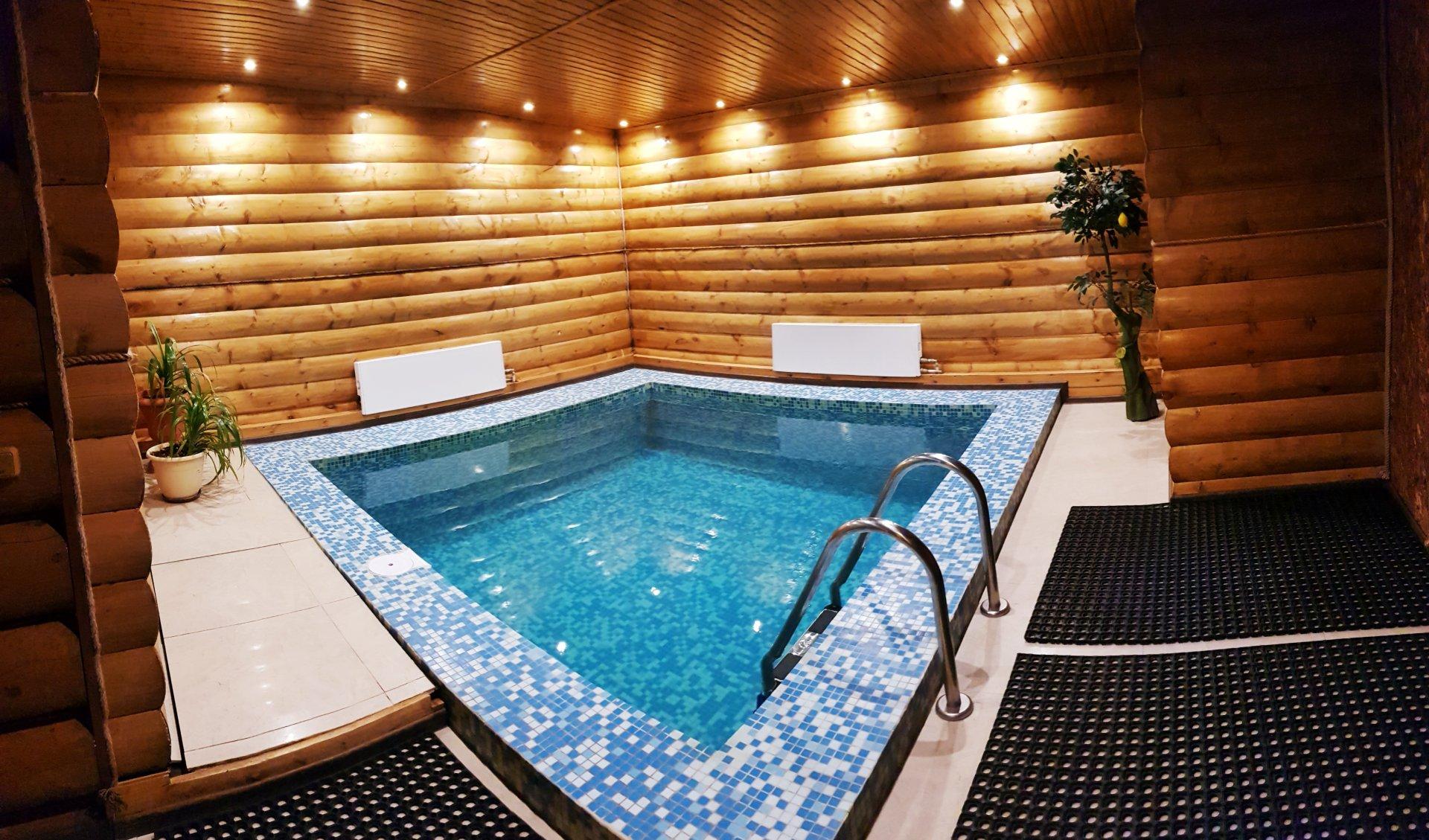 Снять баню с бассейном в подмосковье - сауны и бани на дровах