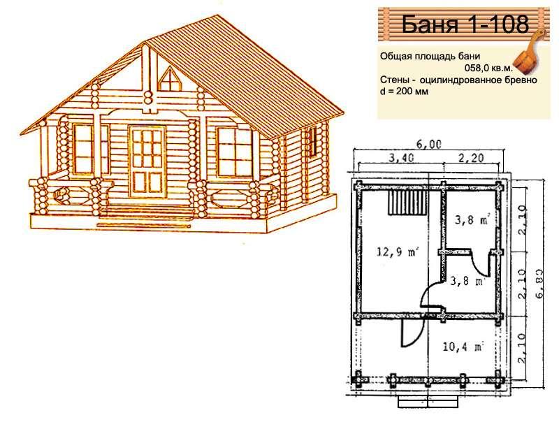 Проект бани 4 на 5: преимущества, особенности составления и примеры