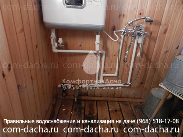 Как провести воду в баню из дома, чтобы не замерзала зимой – что нужно учитывать при обустройстве водопровода