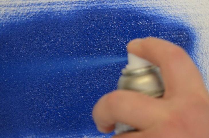 Какие краски подходят для окрашивания пенопласта?