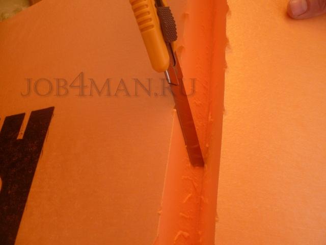 Как лучше крепить пеноплекс к стене