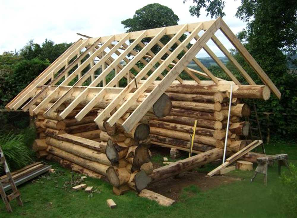 Как построить крышу бани— пошаговая инструкция по возведению