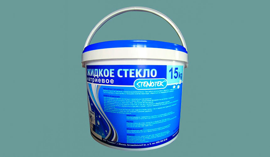 Применение жидкого стекла для гидроизоляции
