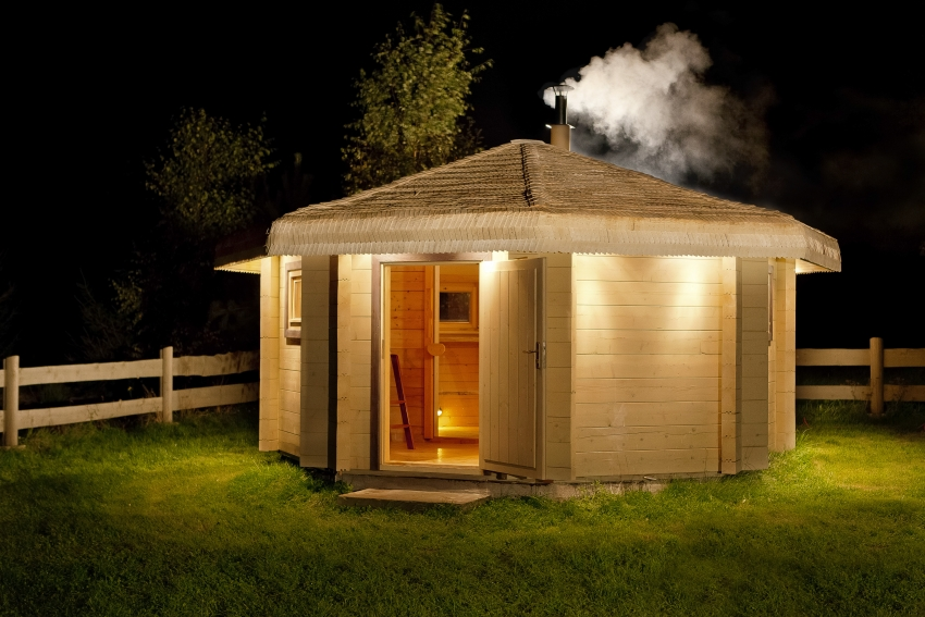 Мини-баня для дачи: достоинства, готовые модели, строительство