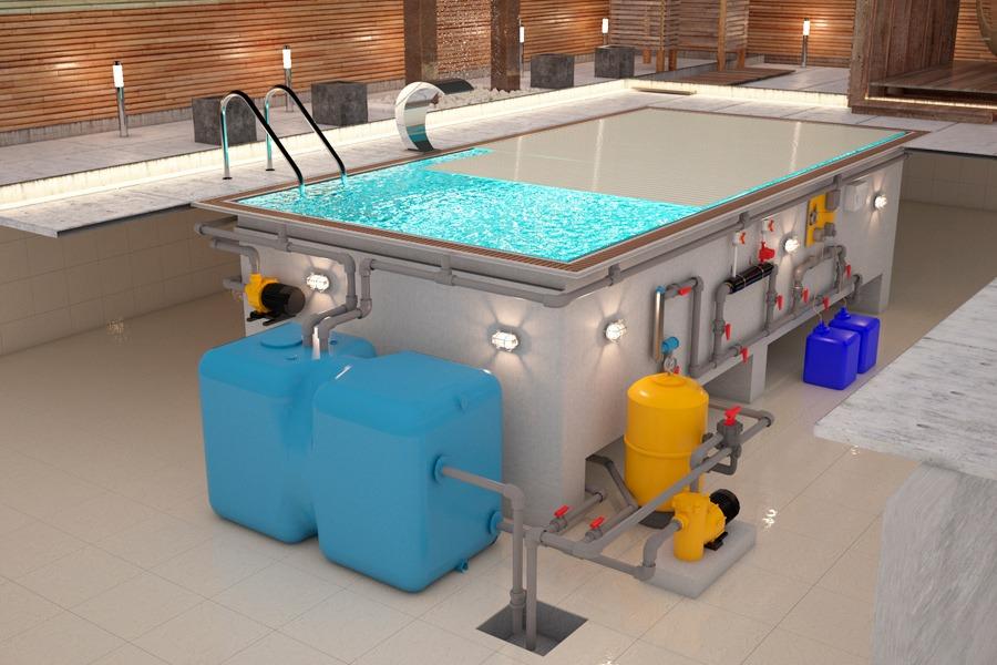 Оборудование для бассейнов: подбор для водоподготовки детских уличных бассейнов. расчет оборудования для бетонной конструкции в бане