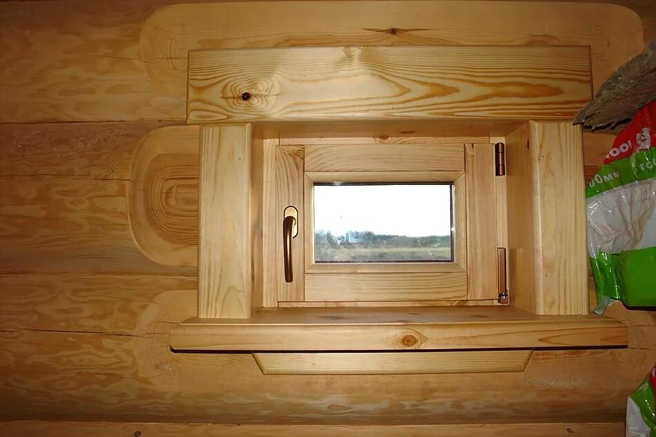 Окно для сауны, отличительные особенности этой бани, есть ли необходимость оконного проема из парилки на улицу