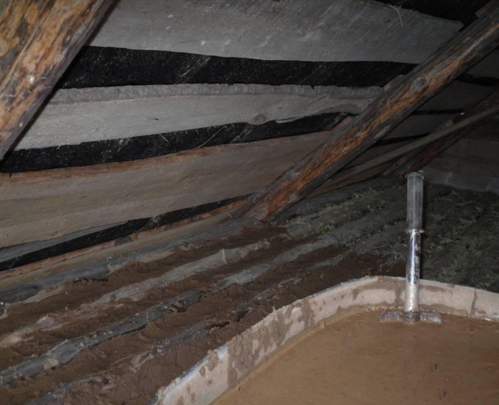 Утепление потолка бани землей - строим баню или сауну