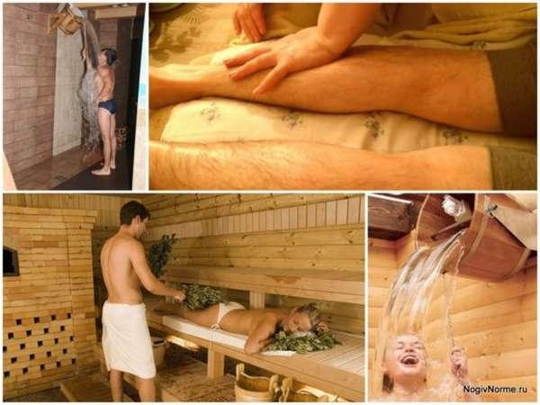 Можно ли мыться в бане при ангине