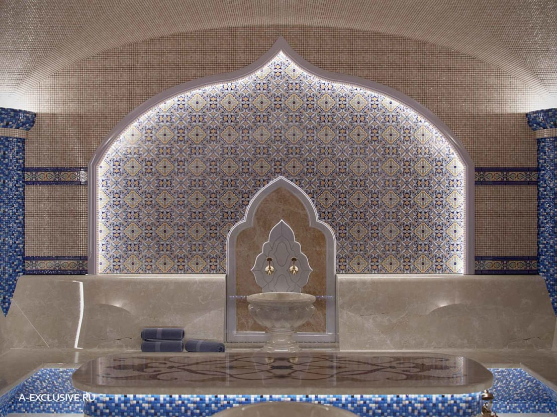 Стоимость строительства турецкой бани. как сэкономить?