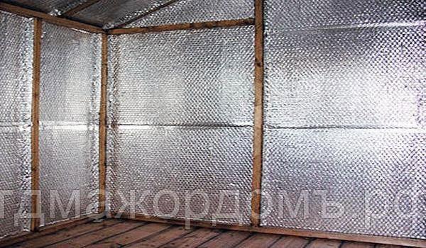 Алюминиевая фольга для бани: какую лучше выбрать, использовать ли на бумажной основе в сауне и парной, фольгированные утеплители, как обшить стены