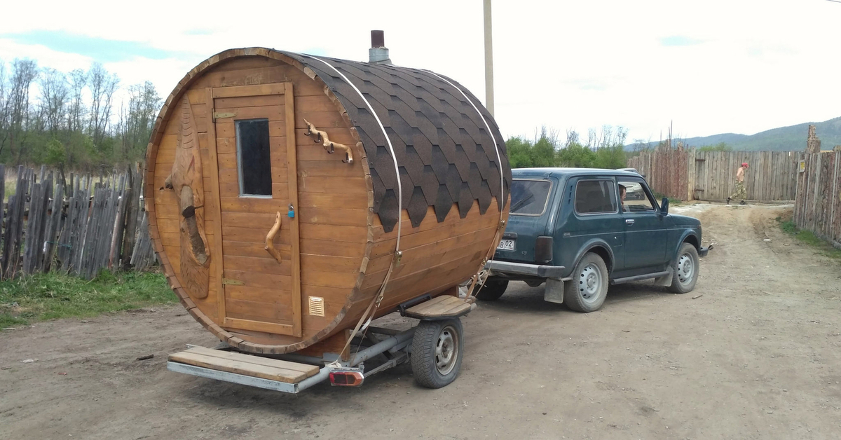 Rodman777 › блог › идея бизнеса: баня на колесах или просто автобаня