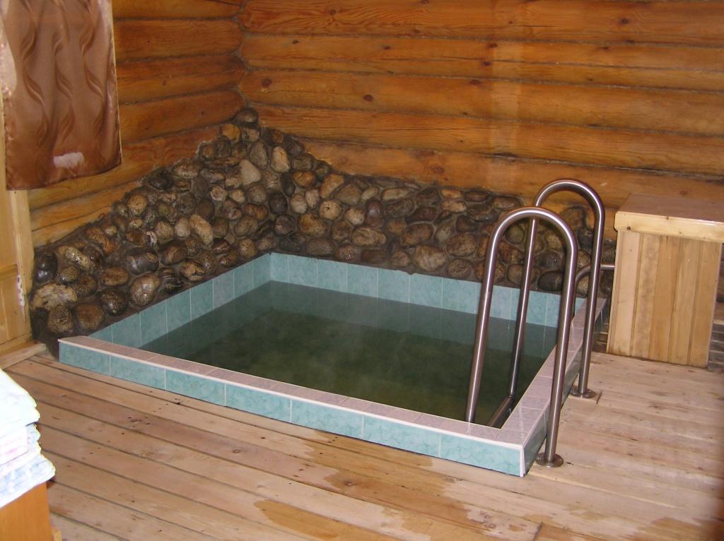 Баня с бассейном: проект потрясающего банного комплекса
