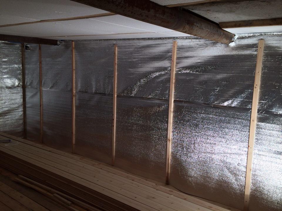 Утеплитель для бани на стены изнутри и теплоизоляция для сауны - материалы