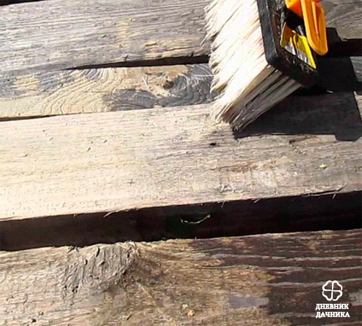 Чем обработать дерево от плесени, грибка: как выбрать надежное средство защиты