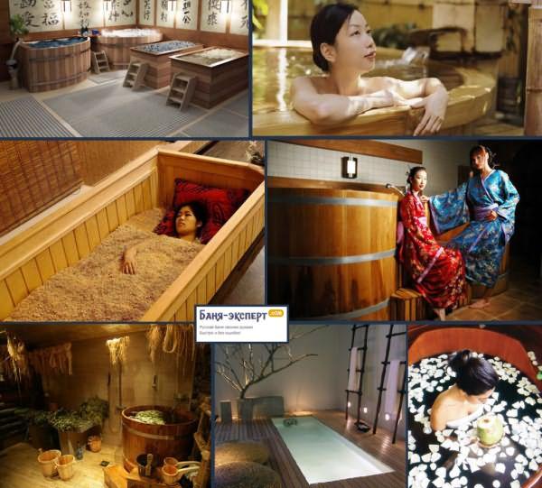 Чем полезна баня – отправляемся в японию