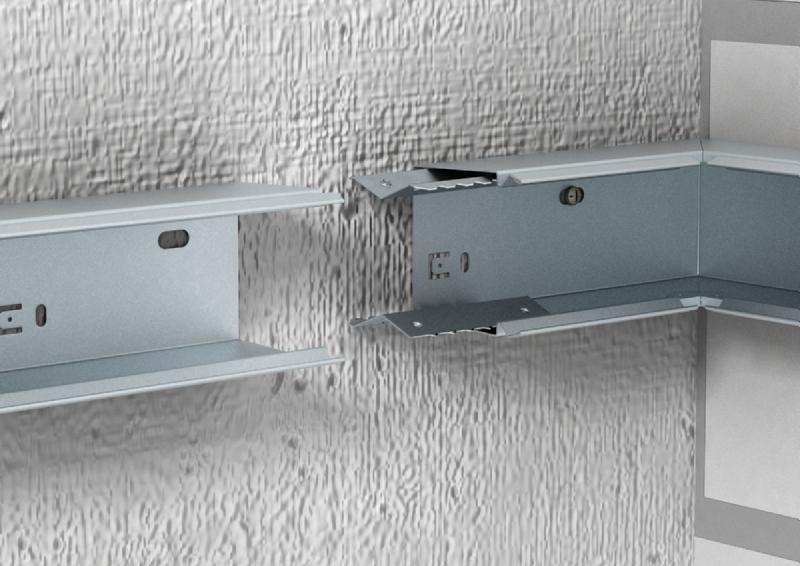 Как крепить кабель канал к стене?