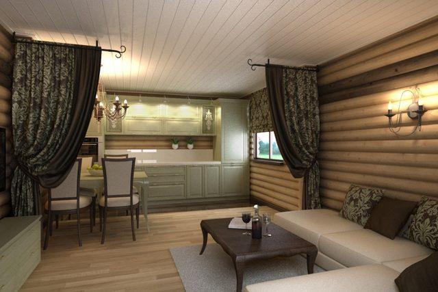 Отделка и оформление комнаты отдыха в бане – интерьер в деталях