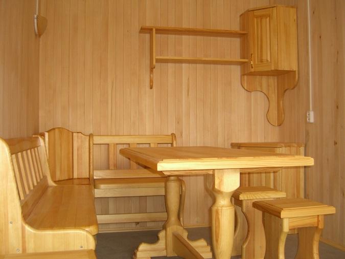 Стол в баню [своими руками] из дерева: как сделать, чертежи