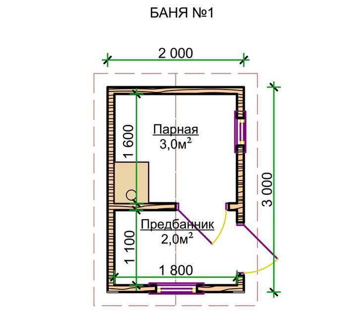 Планировка бани 3 на 3 внутри: фото планировка бани 3 на 3 внутри: фото