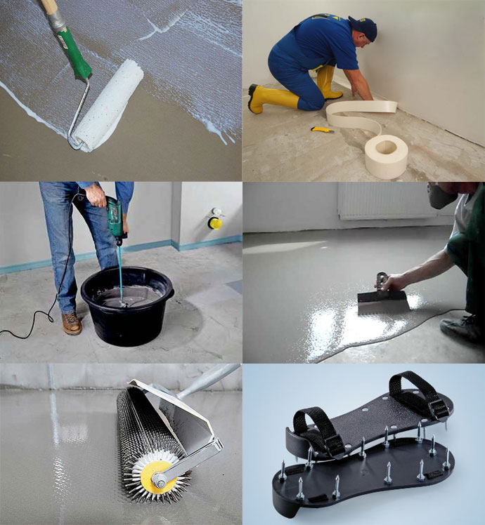 Как сделать наливной пол своими руками: обычный бетонный и декоративный полимерный (3d наливные полы)