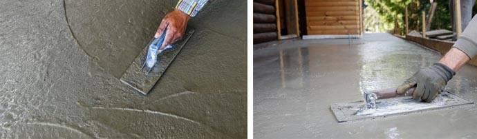 Как выполнить железнение цементных покрытий: технологии рабочих процессов | stroimass.com