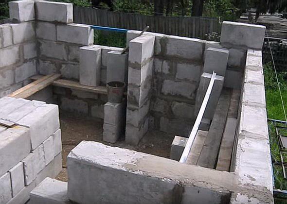 Баня из пеноблоков: характеристики материала. возведение фундамента и стен. отделка