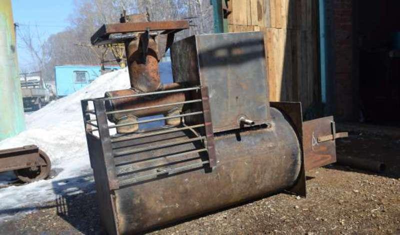 Как сварить печь для бани из трубы своими руками - технология изготовления