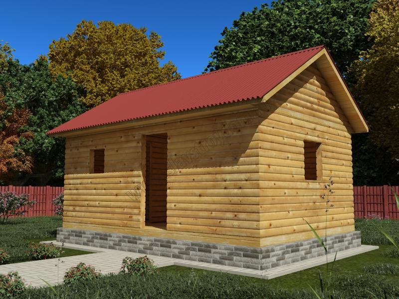 Усадка домов из бруса: почему нельзя строить сразу «под ключ»