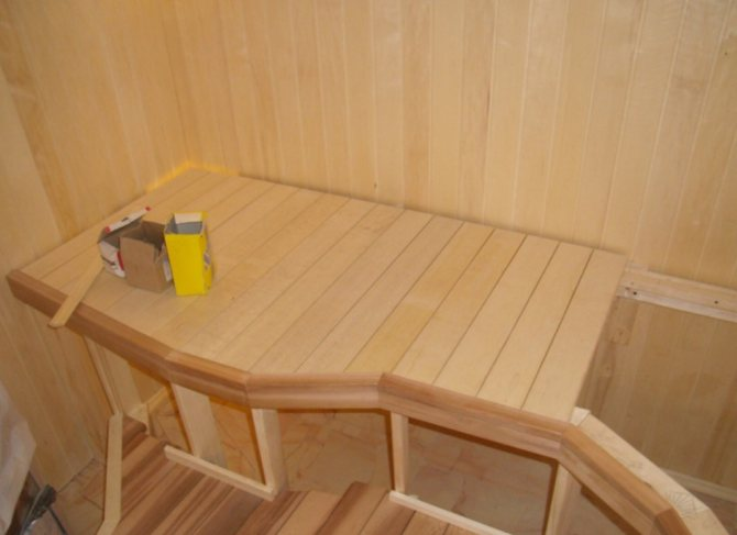 Мебель для бани своими руками. Выбор древесины и некоторые советы по изготовлению