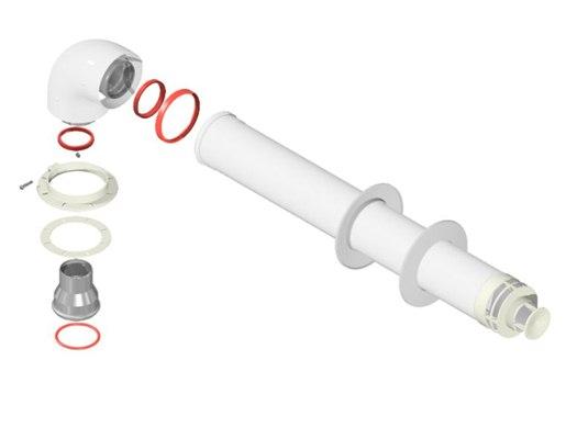 Коаксиальный дымоход: нормы установки, требования к монтажу своими руками