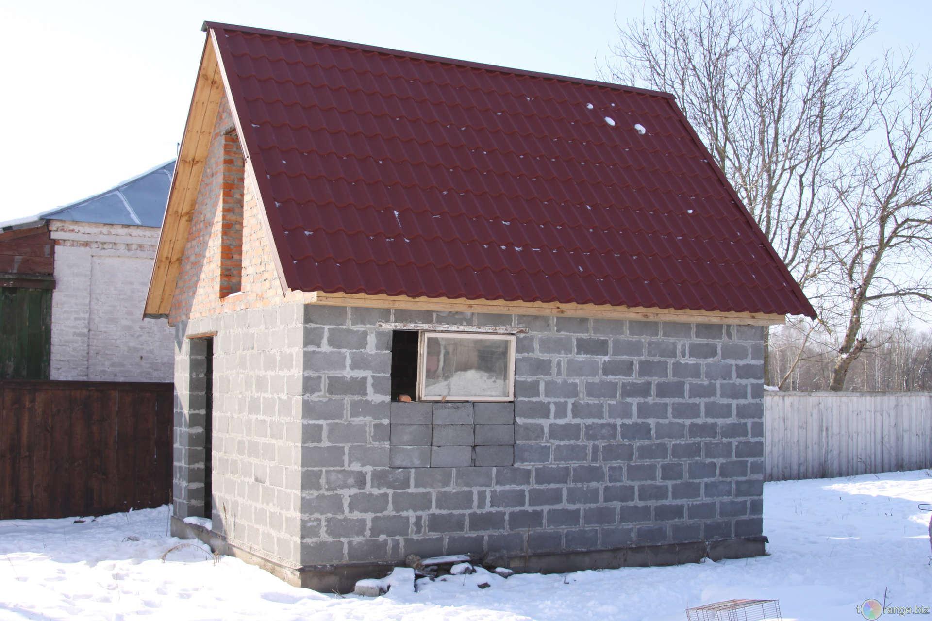 Баня из газобетона: особенности строительства