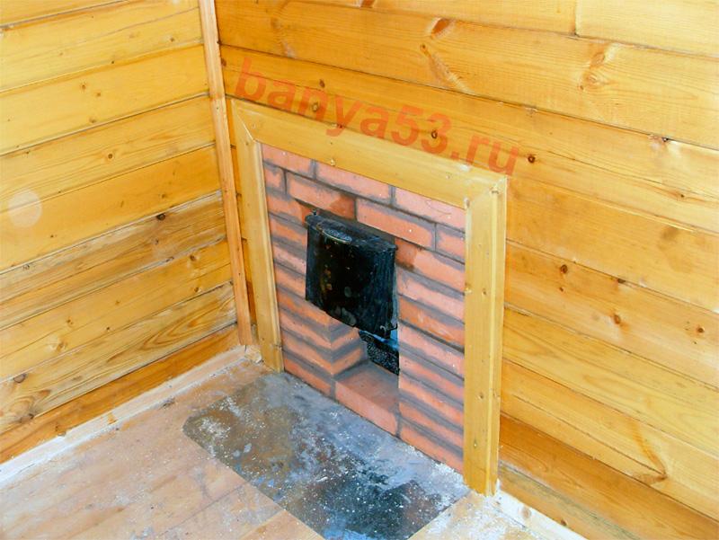 Защитный экран для печи в бане | строительство бани