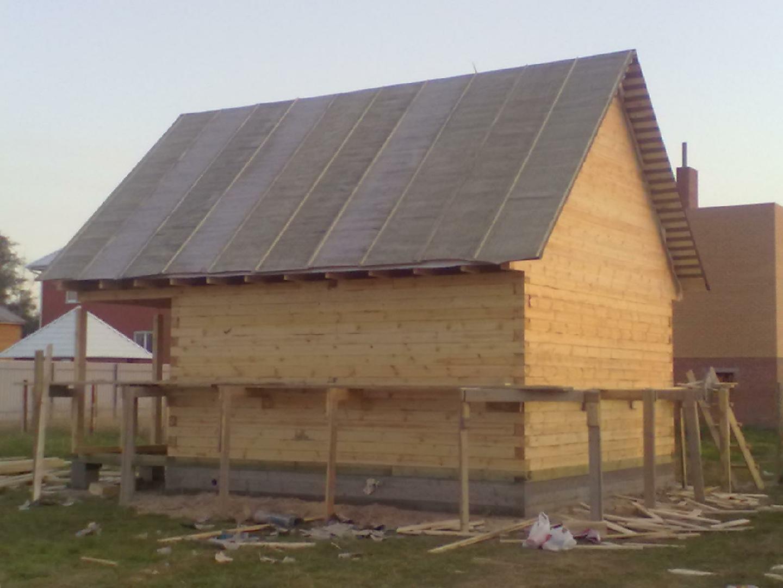 Обобщающая статья про крыши бани