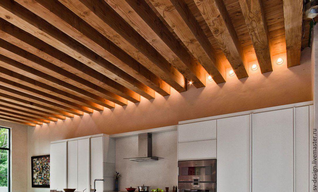 Какой деревянный потолок лучше сделать – виды, особенности