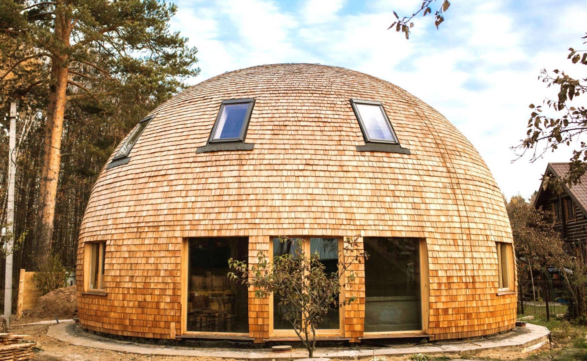 Купольные дома: проекты, фото-примеры и особенности строительства