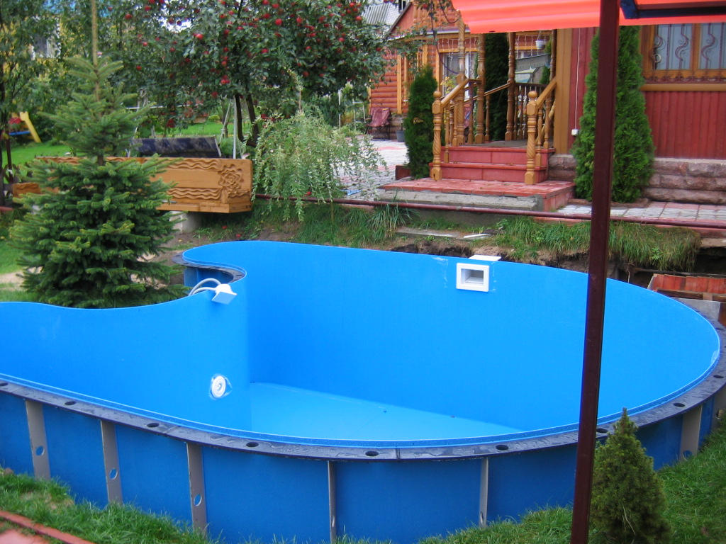 Как установить пластиковый бассейн для дачи: технология и рекомендации