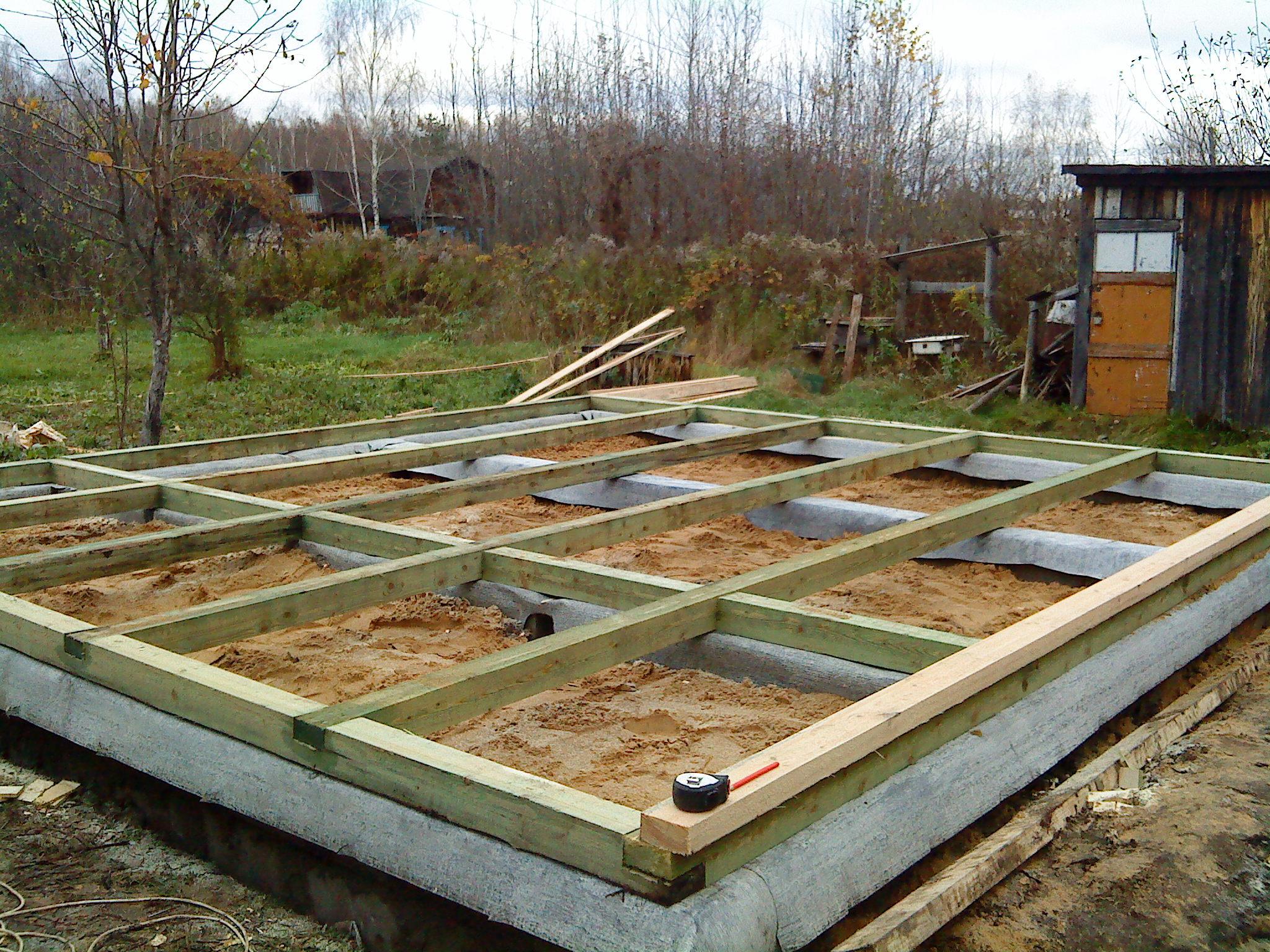 Как построить каркасную баню своими руками, инструкция возведения фундамента под баню, как возвести стены бани, выбор материалов.