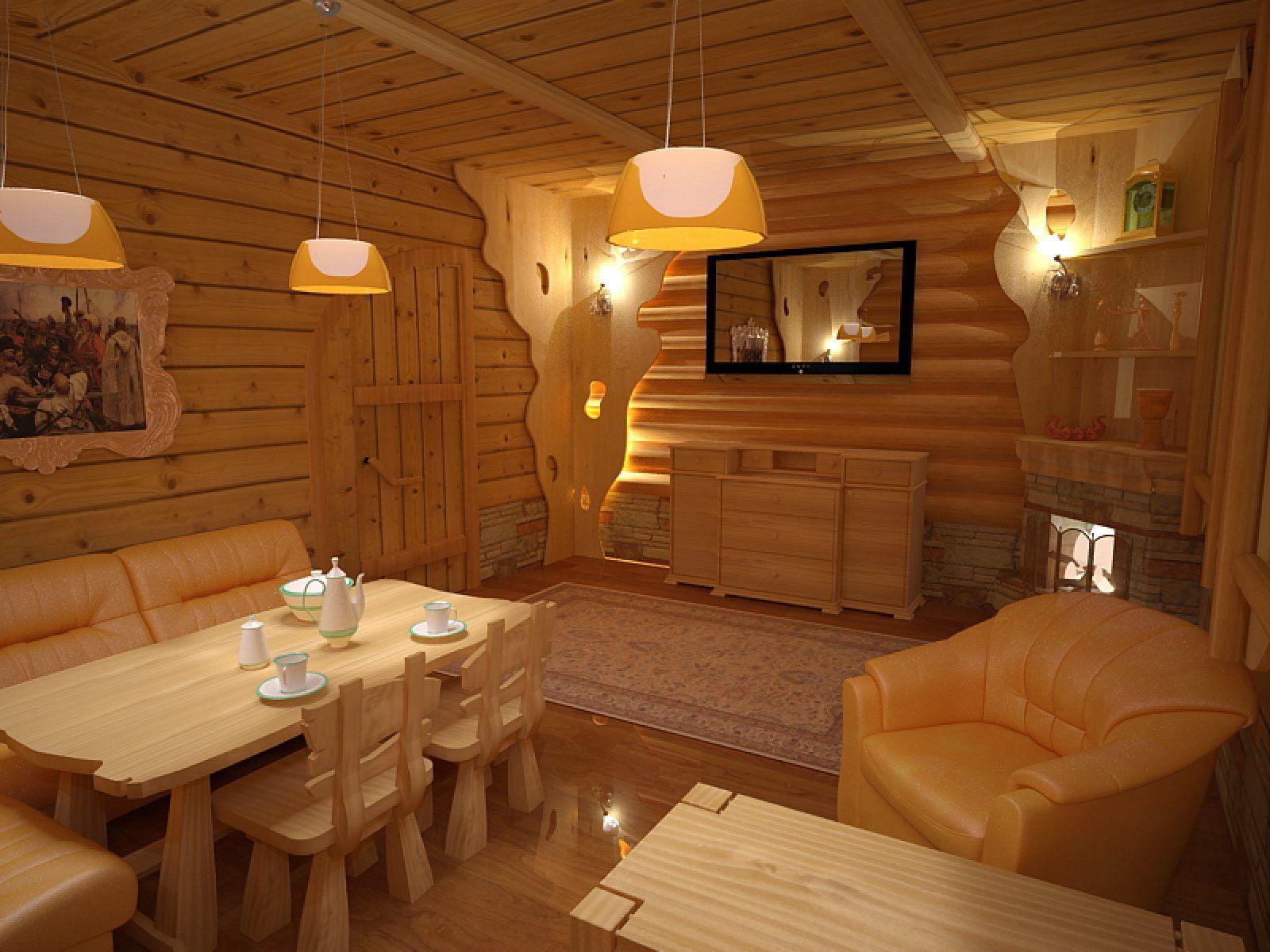 Интерьер бани: 75 фото примеров дизайна внутри