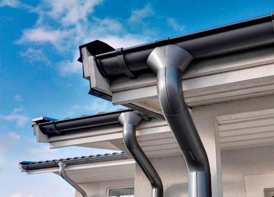 Как сделать водосливы для крыши своими руками — устройство и монтаж (фото, видео)