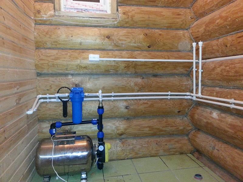 Монтаж водопровода своими руками  в доме или бане | давай попаримся