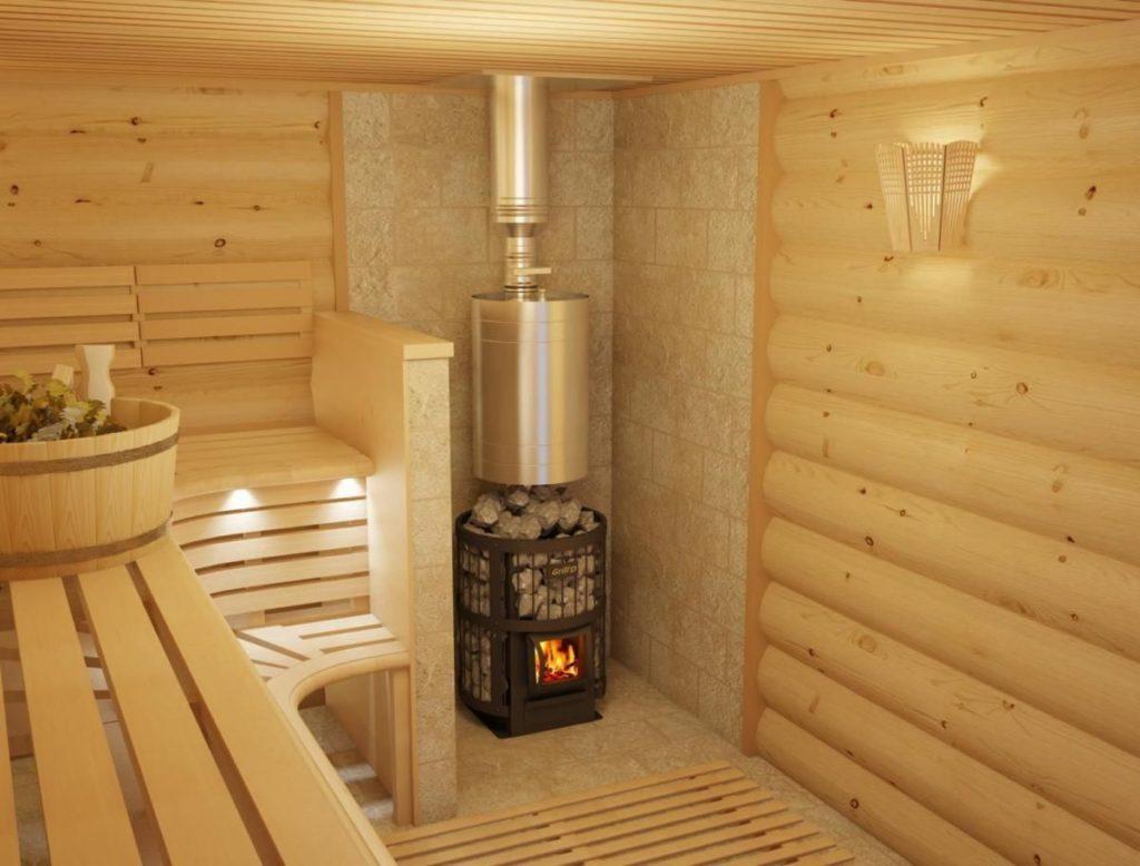 Какая дровяная печь для бани оптимально подойдёт для парной