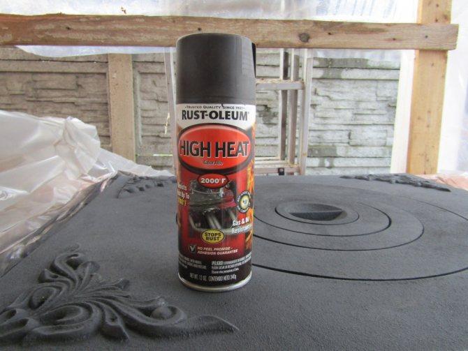 Чем покрасить камин или все о термостойкой краске для печей
