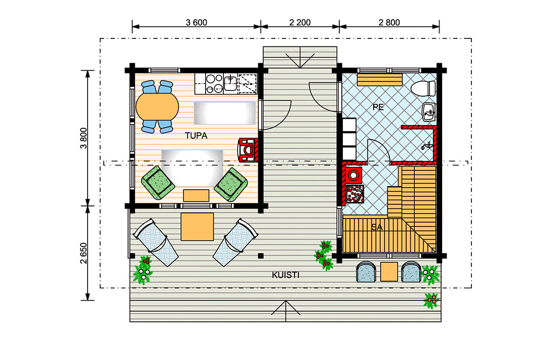 Проект бани с домом под одной крышей: 65 практичных готовых идей