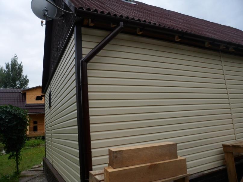 Поэтапная отделка сайдингом деревянного дома или бани