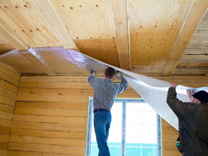 Устройство пароизоляции потолка - как крепить, какой стороной укладывать и зачем вообще она нужна