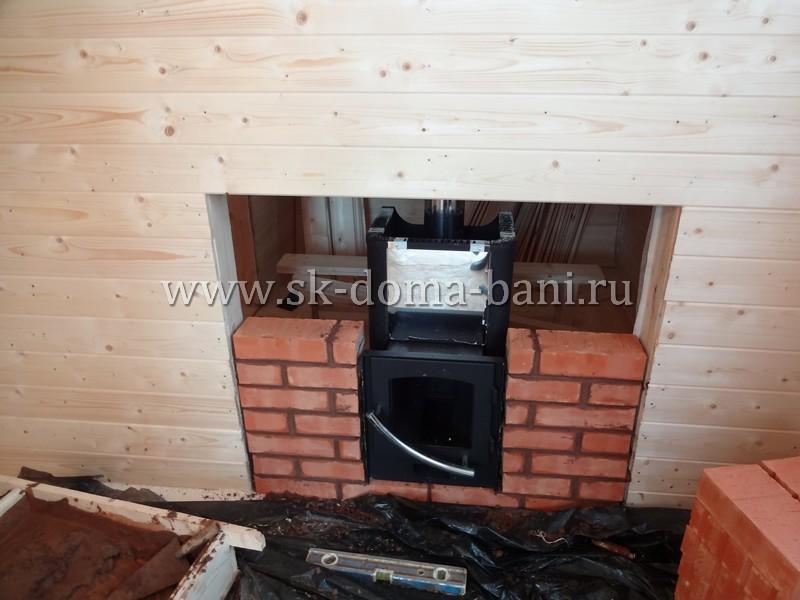 Фундамент под банную печь: бутобетонный, плитный, столбчатый, свайно-винтовой