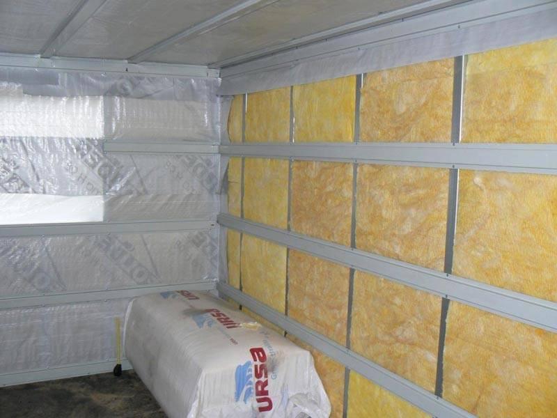 Как правильно утеплить баню из керамзитобетонных блоков