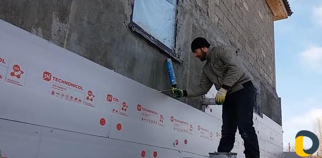 Технология монтажа пенополистирола на стены для утепления